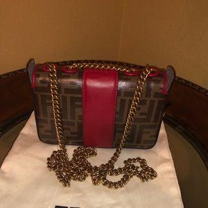 689b1304a0d6 Fendi Bags - Authentic FENDI Zucca Spalmati Mini Double F Bag